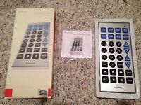 Super-sized Tv Remote Control By Brookstone With Instructions