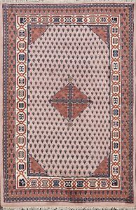 Paisley-Botemir-Geometric-Oriental-Area-Rug-Hand-knotted-Wool-Foyer-Carpet-4-039-x6-039