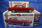 1/18 1966 MUSTANG RED WITH PONY INTERIOR RIGHT HAND DRIVE Diecast Model LTD ED