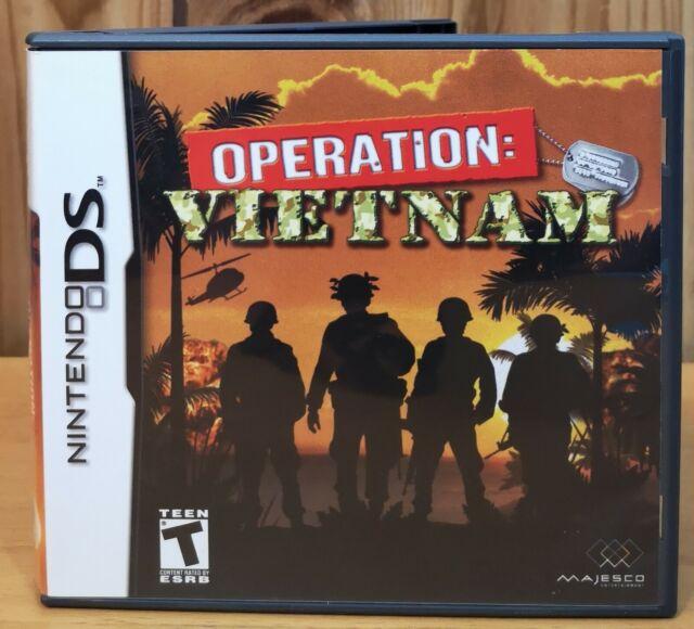 Operation: Vietnam (Nintendo DS, 2007, Majesco) *Complete T