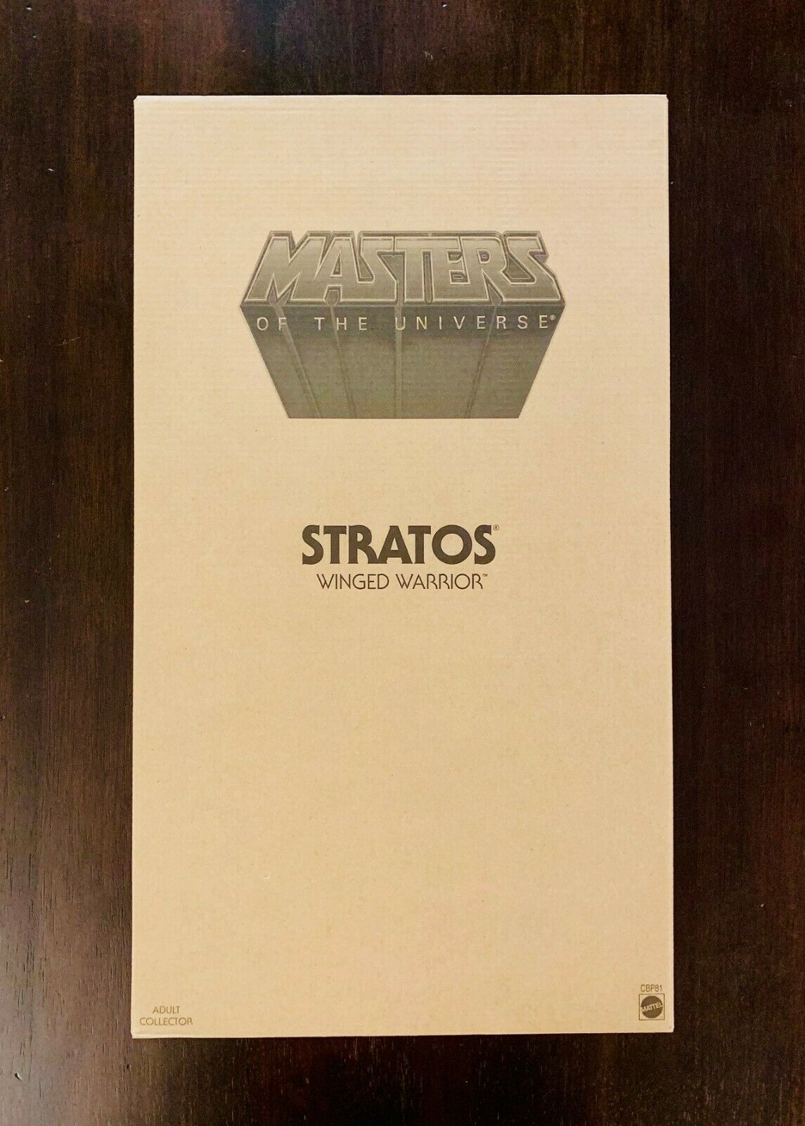 Masters of the Universe GIANT STRATOS 12 cifra Matty Collector MOTU CBP81 nuovo