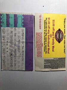 Jimmy-Buffett-And-The-Coral-Reef-Or-Band-Tickets-1995-Corona-Etra-St-Pete-Boston