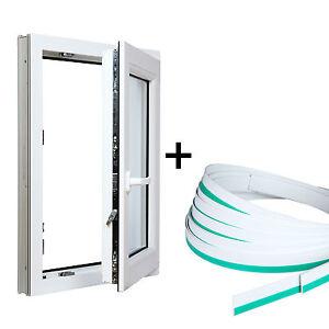 Finestre in pvc con coprifilo bianco aluplast id 4000 for Finestre per esterni