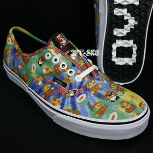 61ce206d89 Image is loading NINTENDO-SUPER-MARIO-BROTHERS-VANS-AUTHENTIC-MEN-039-
