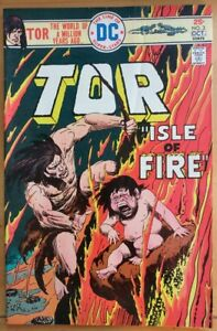 TOR-3-The-Caveman-Joe-Kubert-Cover-1975-DC-Comics-VG-FN-Book