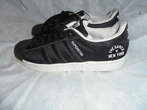 la moitié cd26c c7279 Details about ADIDAS MEN SUPERSTAR KAISER OF NEW YORK LACE UP TRAINERS SIZE  UK 7.5 EU 41.5 VGC