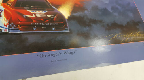 """Kenny Youngblood 20/""""X28/"""" poster art of On Angel/'s Wings NAVY BLUE ANGELS Densham"""
