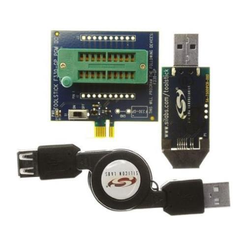 1 x Silicon Labs C8051F330D MCU USB sviluppo Microcontrollore ToolStick