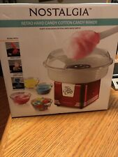 Pre Owned Hard Candy Cotton Candy Maker Missing Pink Plastic Cone
