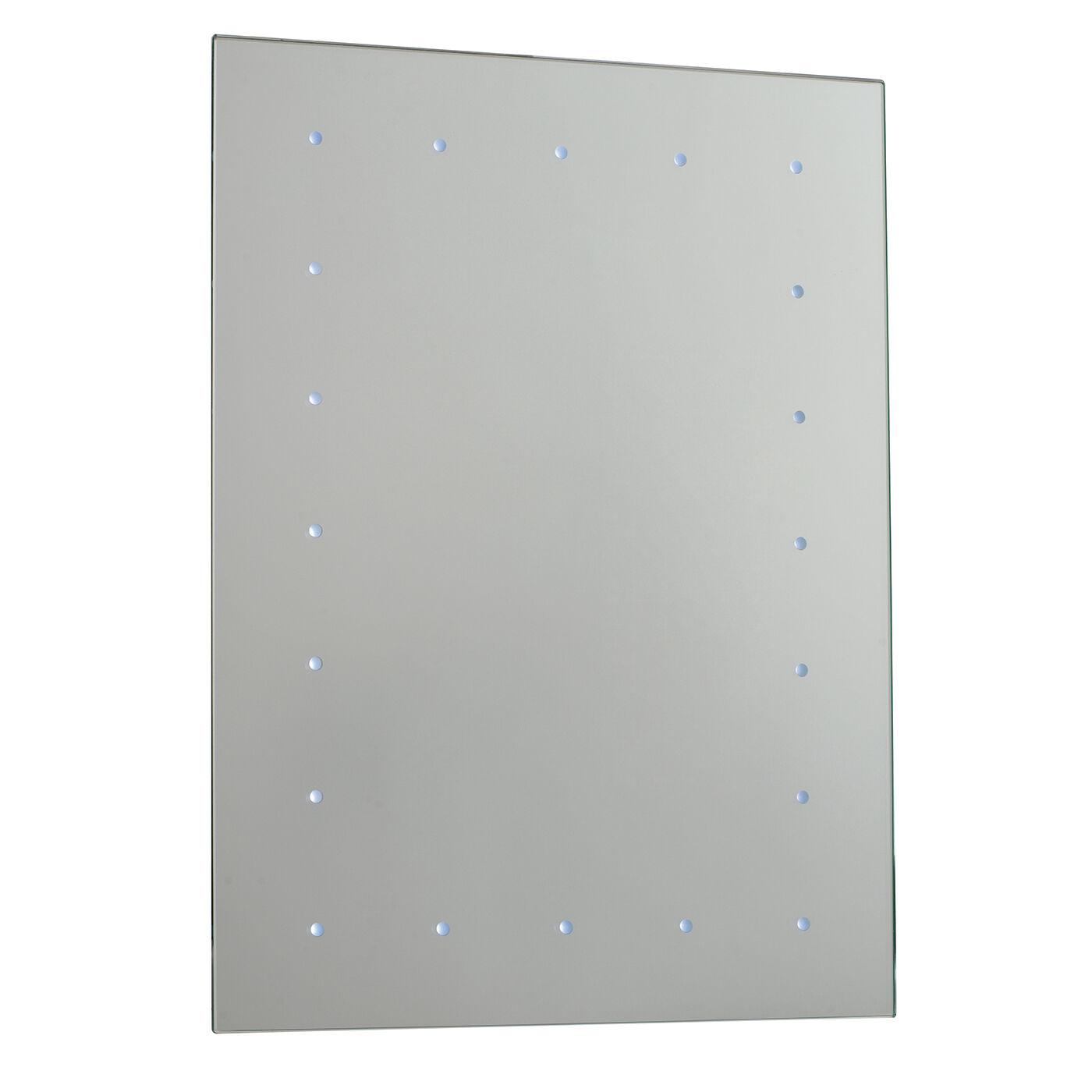 Endon Toba à Batterie DEL Miroir de salle de bains IP44 0.07 W H  600 mm W  450 mm
