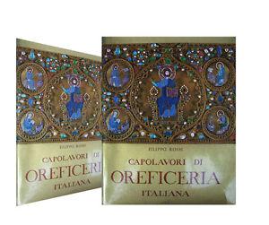 ORO-Bellissimo-libro-CAPOLAVORI-dell-039-OREFICERIA-ITALIANA-anni-039-50