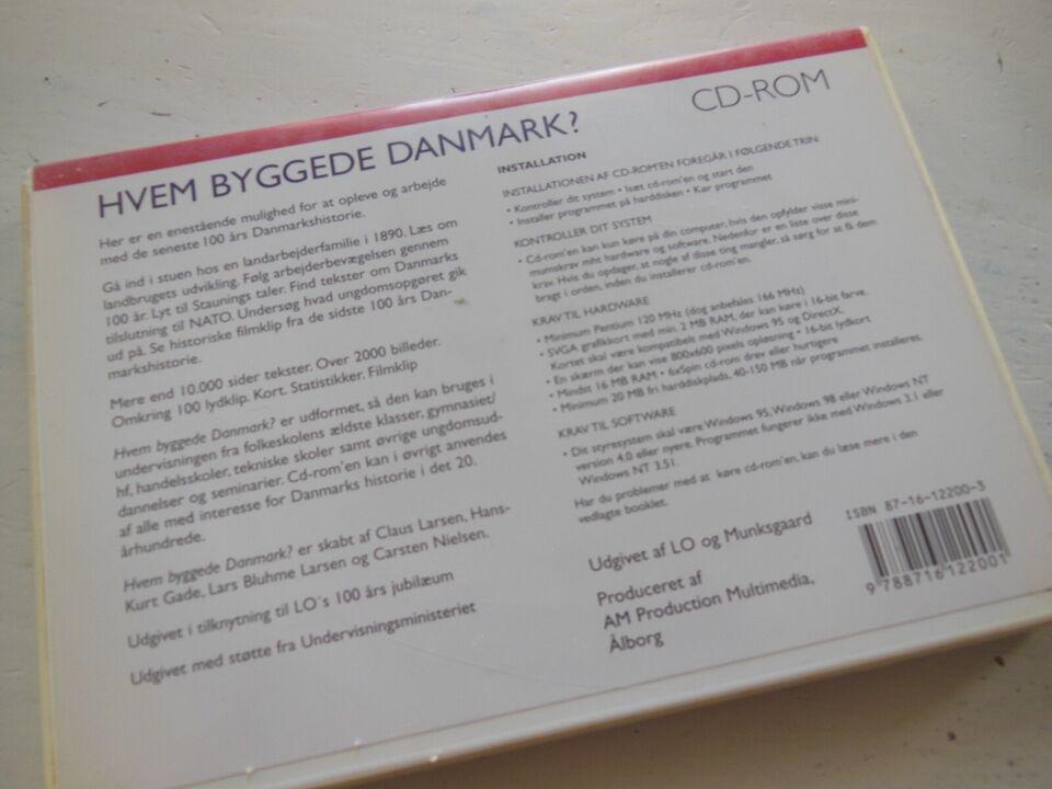 Hvem byggede Danmark, til pc, anden genre