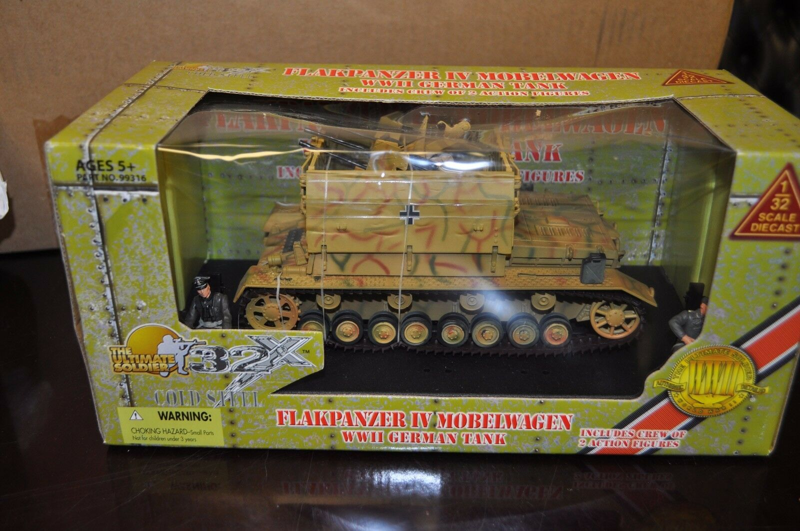 New Rare 21st Century-Ultimate Soldier 1 1 32 German FlakPanzer gun IV Tank 99316