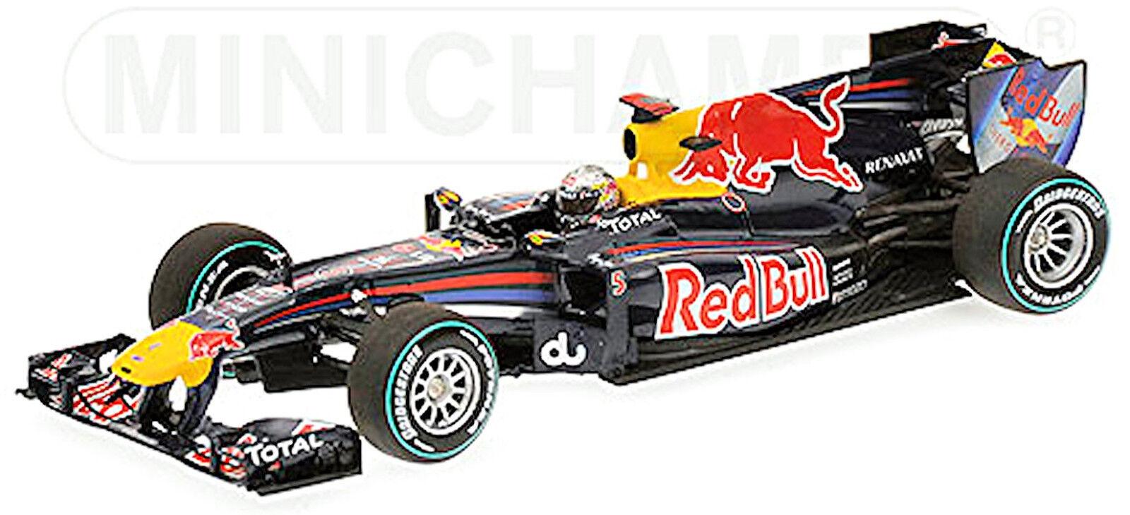 rouge Bull Renault de Course RB6 Sebastien Vettel  1 Gangant Abu Dhabi 1.43