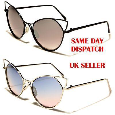 VG Luxury Cat Eye Flower Designer Womens Ladies Sunglasses 100/%UV400 29142