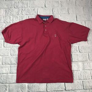 2e23d8dd9 Vintage Bugle Boy Company Men Size XL Pink Polo Short Sleeve   eBay