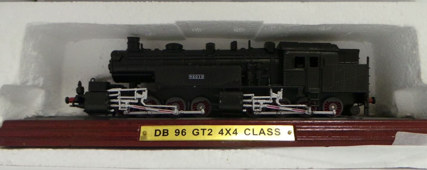TRAINS     DB 96 GT2 4X4 CLASS - DIE CAST MODEL TRAIN (XX) d4dc45