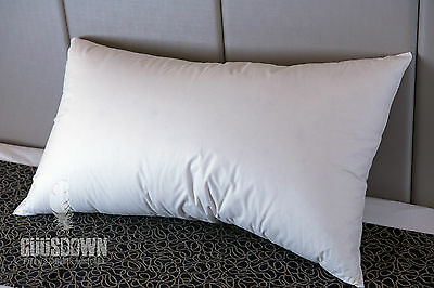 100% Duck Feather Pillow - Firm Support - Made in Australia
