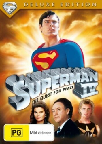 1 of 1 - Superman IV - The Quest for Peace [1987] (Deluxe Edition) DVD WAR