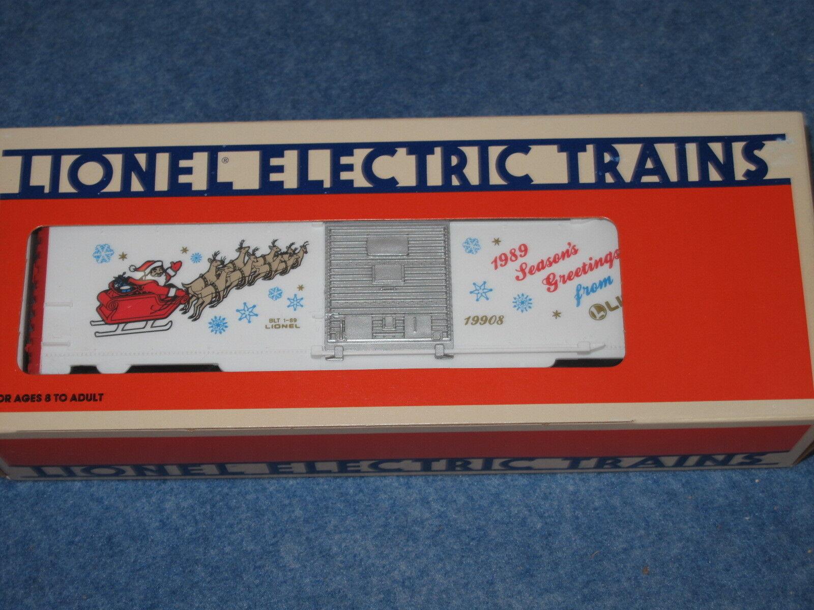 1989 Lionel 6-19908 6-19908 6-19908 Christmas auto L1466 d72f53