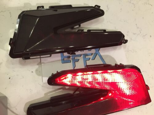 TURBO X DS RC RS left right pair smoked CAN AM MAVERICK X3 BLACK TAIL LIGHTS