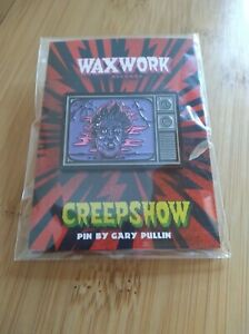 Waxwork Creepshow Something To Tide You Over Enamel Pin by Gary Pullin