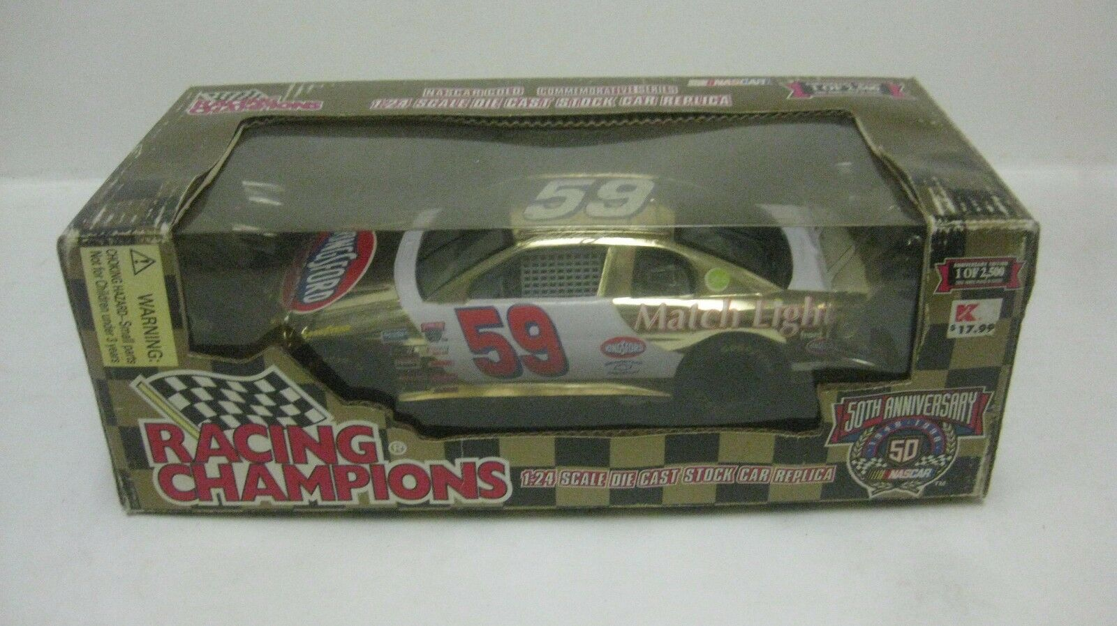 Nascar 50th Robert Pressley Chevy Lumina 1 24 à L'Échelle Miniature 1998