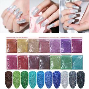 5g-10g-20g-Polvere-Glitter-per-Unghie-Nail-Glitter-Powder-Olografico-Nail-Art