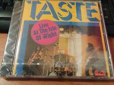 TASTE - LIVE AT THE ISLE OF WIGHT - CD NUOVO SIGILLATO CON CELLOPHANE (SEALED)