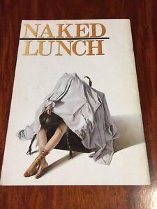 Film Naked Lunch David Cronenberg Movie Program Japanese