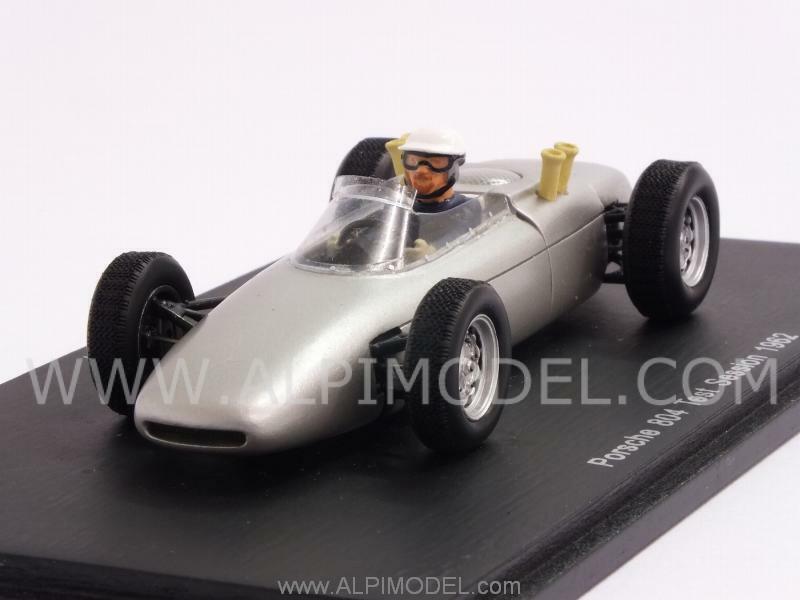 Porsche 804 Test Session 1962 Jo Bonnier 1 43 SPARK S3460
