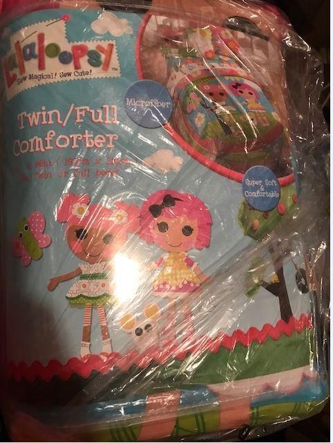 Lalaloopsy Sew Smart lits complet couvre-lit W poupées microfibre Literie Couette