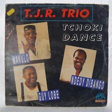 Vintage T.J.R. Trio African Pop Album Vinyl LP French Import