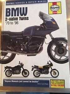 Haynes-BMW-2-Valve-Twins-1970-1996-Motorcycle-Repair-Manual