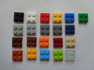 LEGO brique plaque plate 2x2 (3022) choose color and quantity
