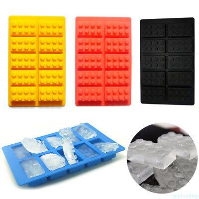 "BRAND NEW LEGO ~ICE CUBE TRAY ~/""BRICK/""~ Shaped Mold Red"