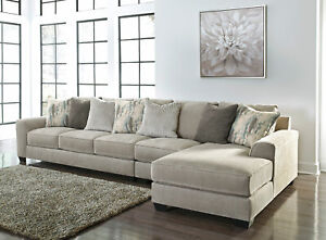 Astounding Details About Modern 3Pcs Sectional Living Room Furniture Gray Chenille Sofa Chaise Set Ig0T Pdpeps Interior Chair Design Pdpepsorg