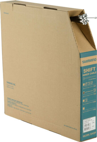Shimano Optislick Derailleur Cable 1.2 x 2100mm Filebox of 50
