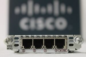GENUINE-Cisco-VIC2-4FXO-4-Port-Voice-Interface-Card-for-Routers-w-Hologram