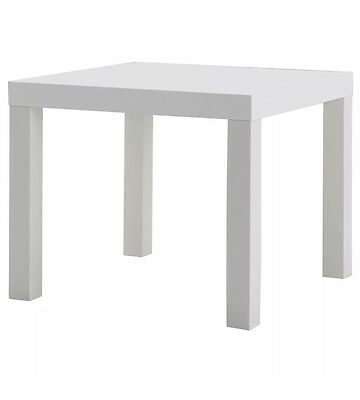 Ikea Lack Small Coffee Table Kids Table White Side Table