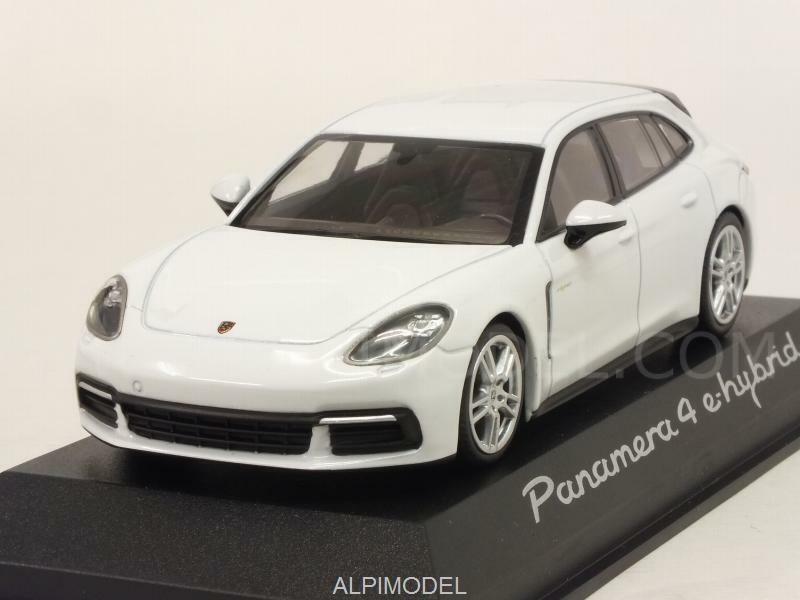 Porsche Panamera 4 E-Hybrid 2017 blanc Porsche Promo 1 43 MINICHAMPS WAP0207620H
