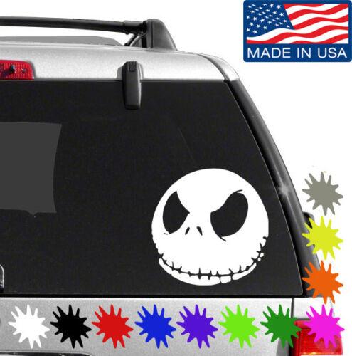 Jack Skellington Decal Sticker BUY 2 GET 1 FREE Choose Size /& Color V2 054
