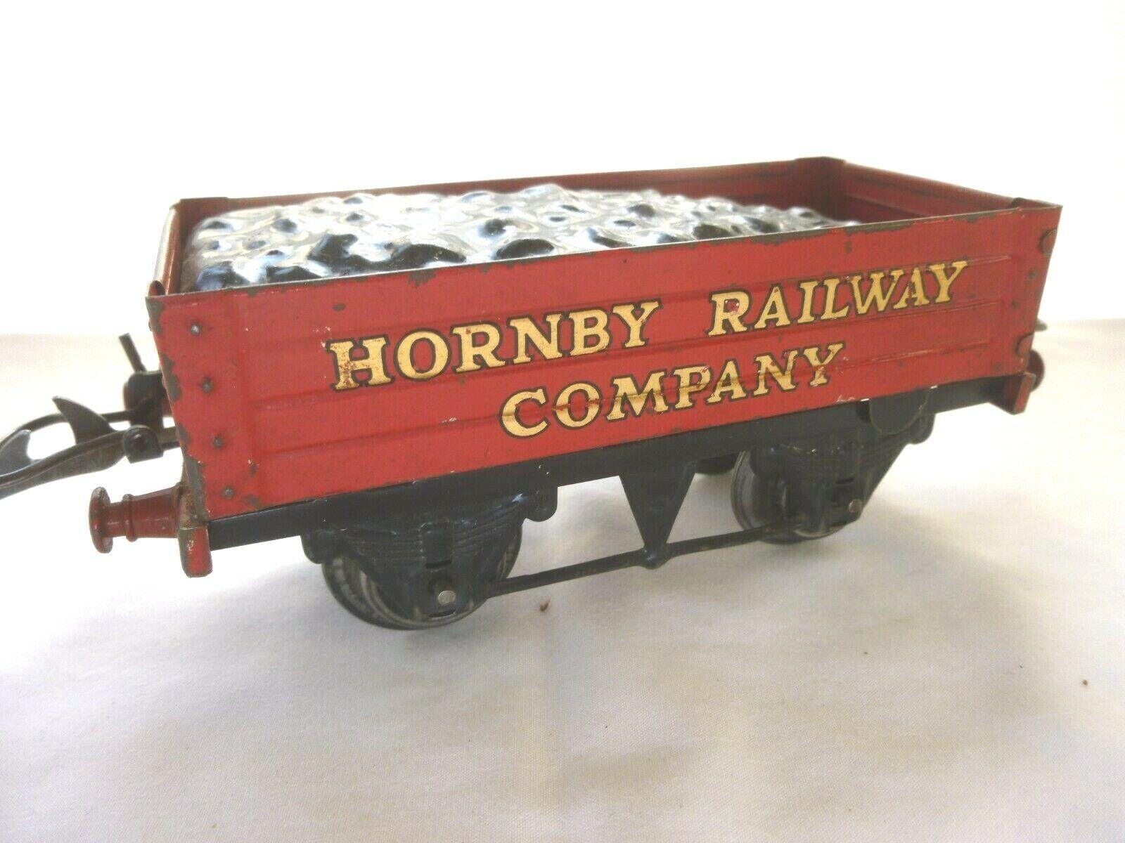 ORIGINAL HORNBY O GAUGE HORNBY RAILWAY azienda OPEN  WAGON