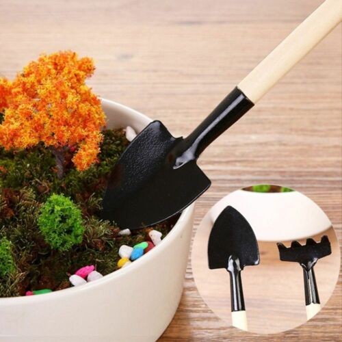 Shovel Rake Gardening Tools Stainless Steel Potted Plants Wood Spade For Flowers