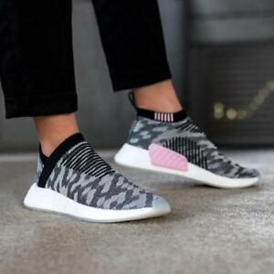 0a3ff4882 Adidas Originals Women s NMD CS2 Primeknit PK Core Black Pink BY9312 ...