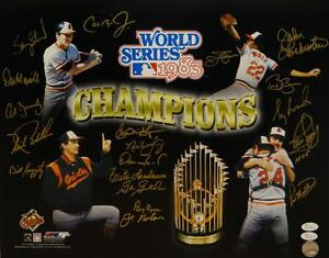 1983-Baltimore-Orioles-Signed-16x20-WS-Champs-Multi-Shot-PF-Photo-JSA-W-Auth