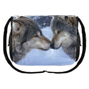 Lupi Gotico Wolf Borsa Messaggero In Stile Tracolla A Western RwwEqPf