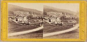 ALLEMAGNE-Wildbad-Wurtemberg-Ville-a-identifier-Photo-Stereo-L-Meder-ca-1860