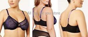 2713b2aea82 Image is loading Ashley-Graham-Plus-Size-Extended-Attraction-Underwire-Bra