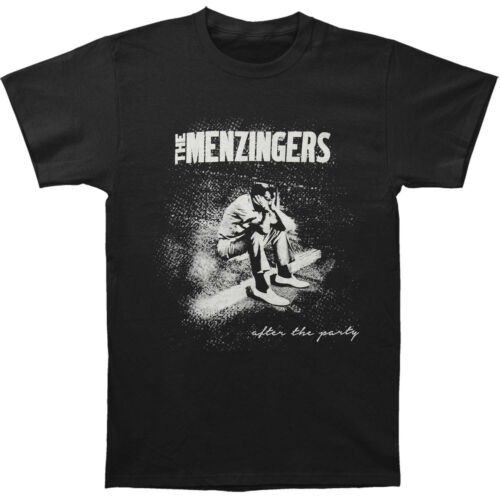 BRAND NEW The Menzingers Sad Guy After The Party Black T-shirt